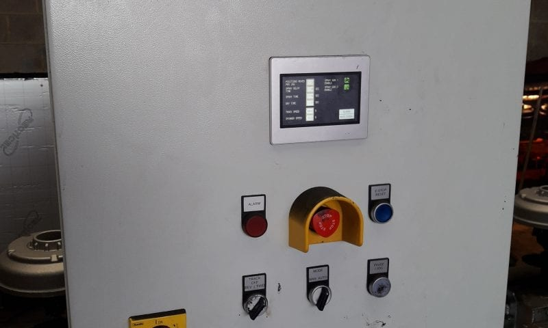 control panel painted